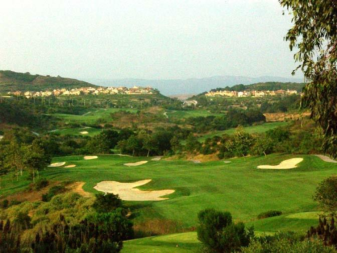 Talega golf club mountain view