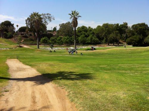 Brea creek - course view