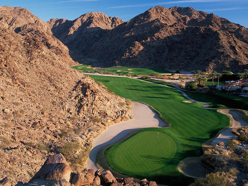 La quinta resort club mountain course hole15