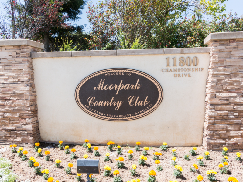 Moorpark cc entrance