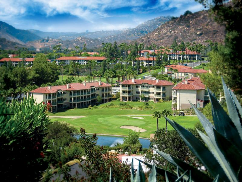 Welk resort view