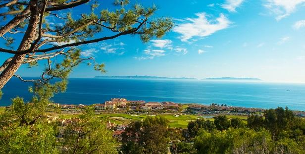 Terranea resort - hill overview