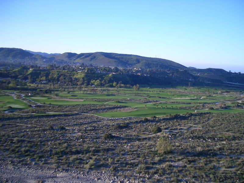 Angeles national course view